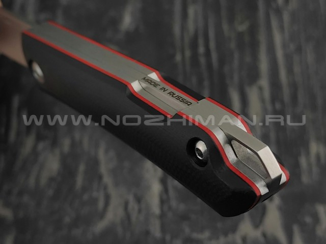 N.C.Custom нож Bro сталь X105, рукоять G10 black