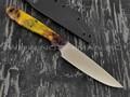 Apus Knives нож Wilson Long сталь M390, рукоять акрил и алюминиевая сетка