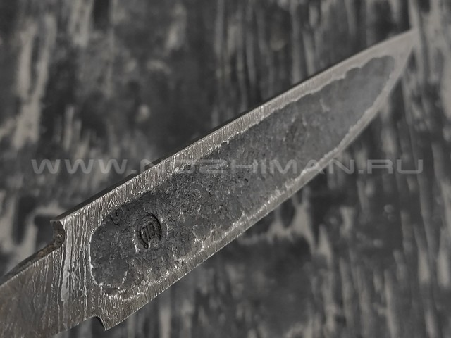 Клинок Якут №2 дамасская сталь (Товарищество Завьялова)