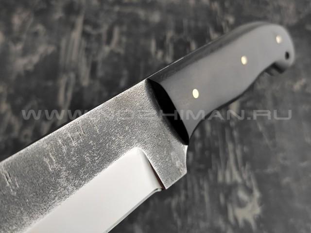 Мачете тропик-2 кованый, сталь 95Х18, рукоять черный граб (Наследие)