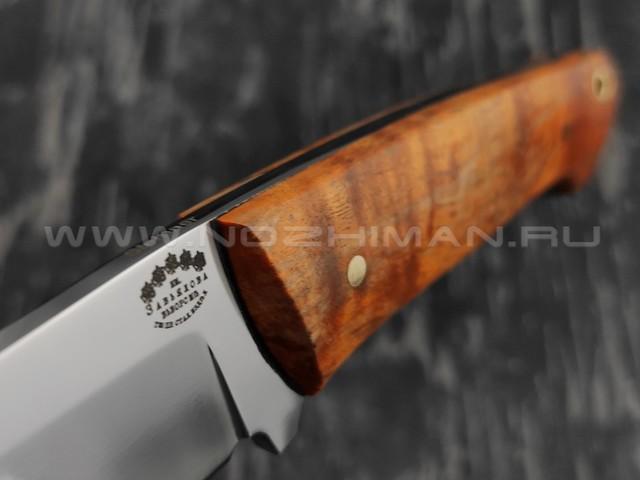 """Нож """"Бригадир"""" сталь sleipner, рукоять карельская береза (Тов. Завьялова)"""
