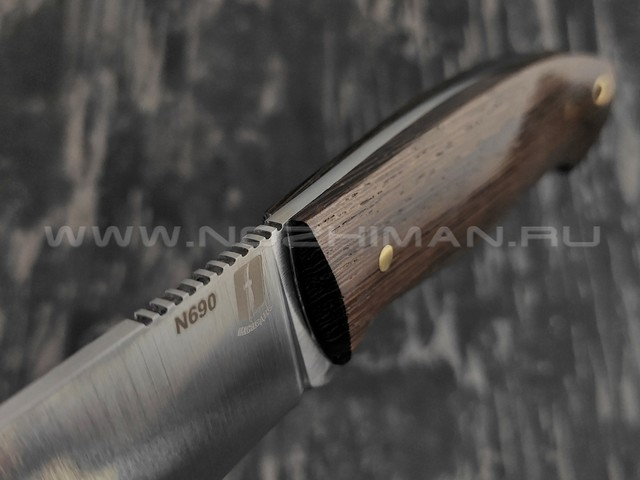 """Нож """"Рабочий"""" сталь N690, рукоять венге (Наследие)"""