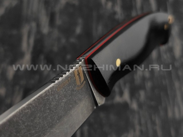"""Нож """"Рабочий"""" булатная сталь, рукоять G10 (Наследие)"""