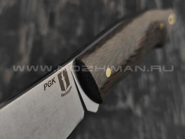 """Нож """"Крейсер"""" сталь PGK, рукоять микарта (Наследие)"""