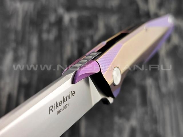 Нож Rike Knife RK1507S-PB сталь S35VN, рукоять титан