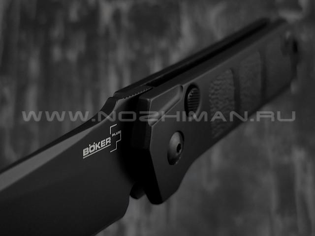 Нож Boker 01BO951 Kihon Auto Black сталь Aus-8, рукоять aluminum 6061-T6