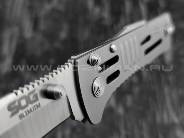 Нож SOG SJ-31 SlimJim сталь Aus-8, рукоять сталь 420J2