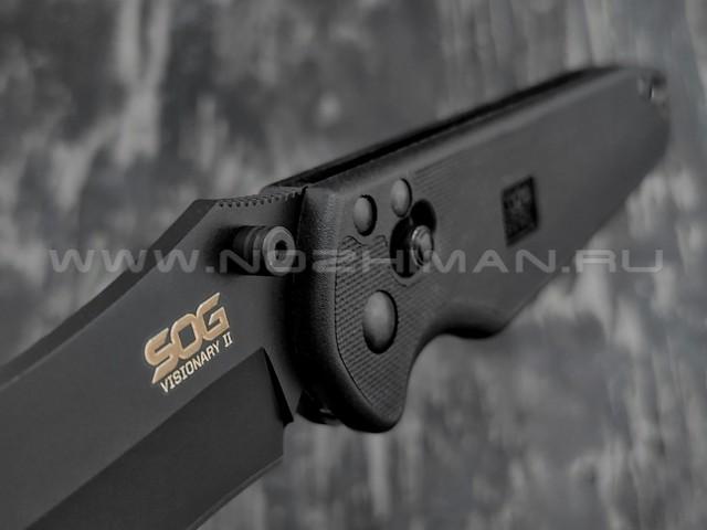 Нож SOG Visionary II VS02 сталь VG-10, рукоять GRN