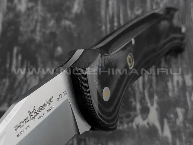 Нож Fox Forest 577ML сталь N690Co, рукоять Micarta