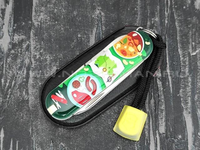 Швейцарский нож Victorinox 0.6223.L1907 Swiss Mountain Dinner (7 функций)
