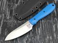 Zh KNIVES нож True сталь N690, рукоять G10 blue