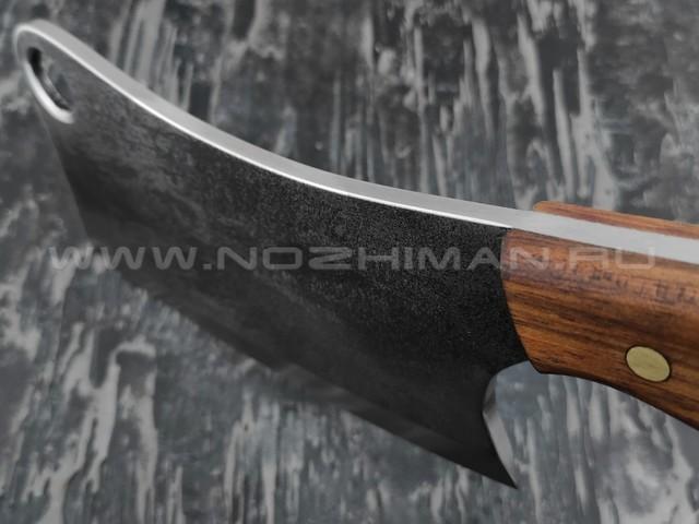 Тяпка для мяса Atroposknife Мясник сталь 40Х13, рукоять сапеле