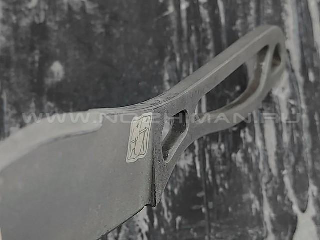 "1-й Цех нож ""Китеж Град"" сталь K110, рукоять сталь"