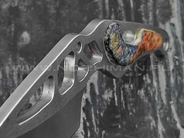 """1-й Цех нож """"Мостодонт"""" сталь 440C, рукоять сталь"""