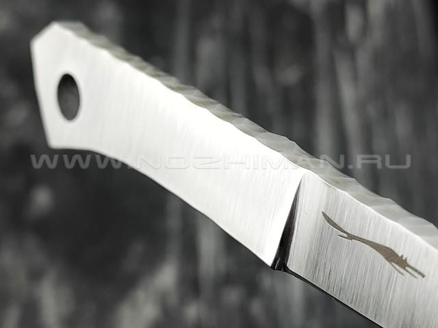 "Волчий Век нож ""Скелетник-2"" сталь CPM S125V WA, рукоять сталь"