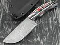 "Волчий Век нож ""Шихан"" Custom Los Mexicanos сталь Niolox WA, рукоять композит"
