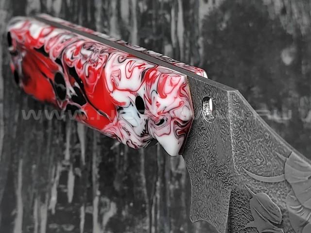 "Волчий Век нож ""KOI"" Custom сталь Niolox WA, рукоять композит"