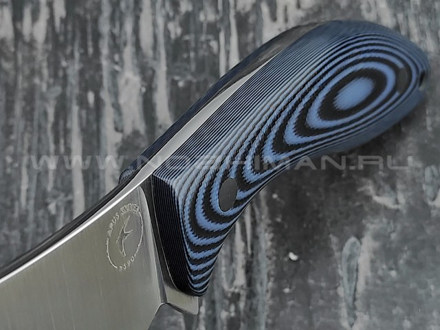 Apus Knives нож Narbus сталь N690, рукоять G10 black & blue