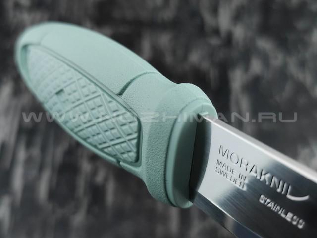 MORAKNIV нож Eldris 13855 сталь inox, рукоять резинопластик mint green