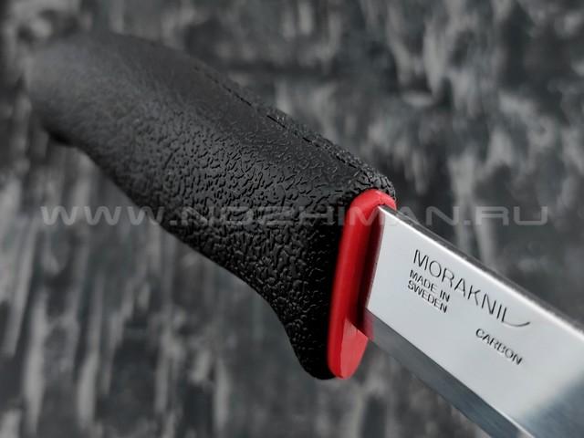 MORAKNIV нож 711 11481 сталь carbon, рукоять резинопластик