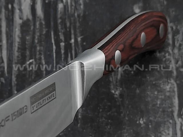 QXF Knight универсальный нож R-5265 сталь 50Cr15MoV, рукоять дерево