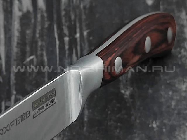 QXF Knight овощной нож R-5273 сталь 50Cr15MoV, рукоять дерево