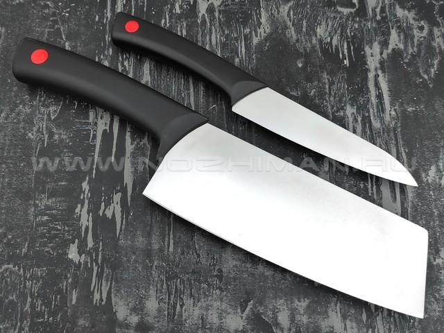QXF набор из двух кухонных ножей R-43-2 сталь 40Cr14, рукоять ABS