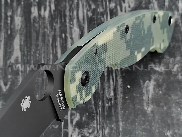 Нож Spyderco Military 36GPCMOBK, сталь CPM S30V, рукоять G10