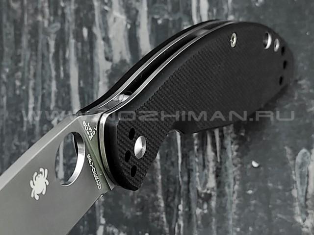 Нож Spyderco Astute 252GP, сталь 8Cr13MoV, рукоять G10