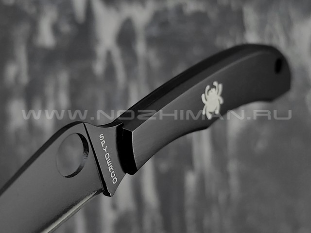 Нож Spyderco HoneyBee 137BKP, сталь 420 black, рукоять Steel 410SS