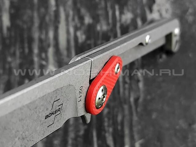 Boker Plus 01BO661 Fragment сталь 9Cr13CoMoV, рукоять сталь, g10