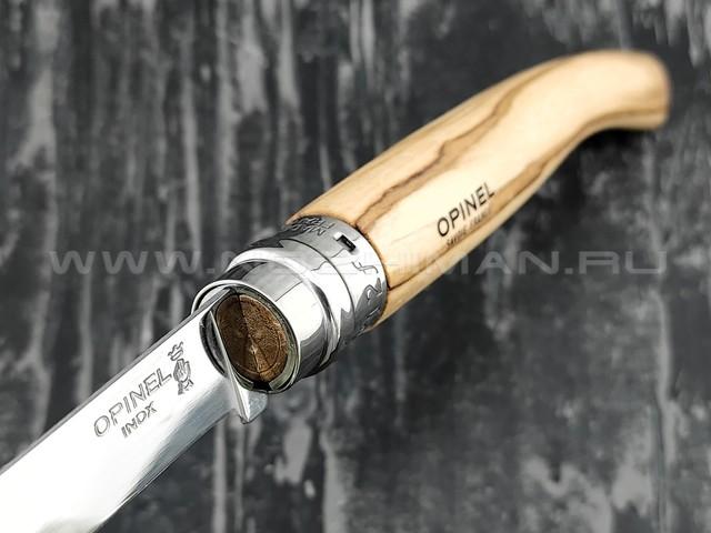 Нож Opinel складной филейный №12 001145 сталь Sandvik 12C27, рукоять олива