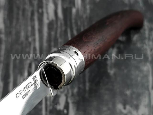 Нож Opinel складной филейный №12 000011 сталь Sandvik 12C27, рукоять бубинга