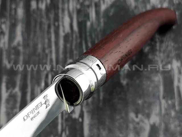 Нож Opinel складной филейный №15 243150 сталь Sandvik 12C27, рукоять бубинга
