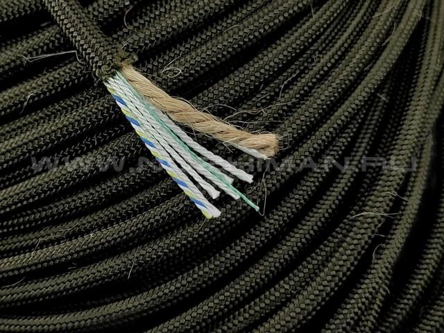 Paracord 550 Survival Dark OD Green