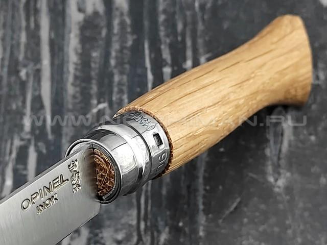 Нож Opinel №6 Inox 002024 сталь Sandvik 12C27, рукоять дуб