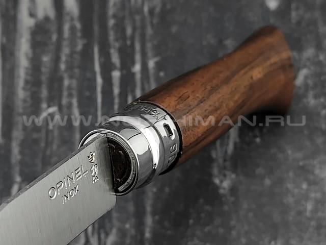 Нож Opinel №6 Inox 002025 сталь Sandvik 12C27, рукоять орех