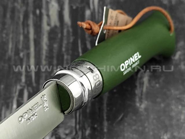 Нож Opinel Bushwhacker №8 001703 Khaki сталь Sandvik 12C27, рукоять бук