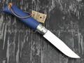 Нож Opinel Bushwhacker №8 002212 Dark Blue сталь Sandvik 12C27, рукоять бук