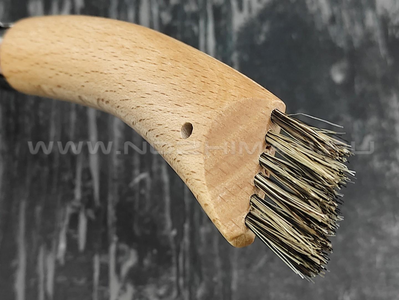 Нож грибной Opinel №8 001250 Mushroom сталь Sandvik 12C27, рукоять бук