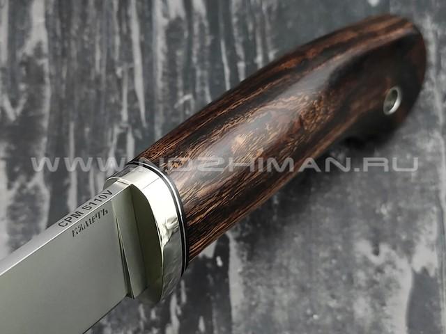 Кметь нож Клык-1, сталь CPM S110V, рукоять айронвуд