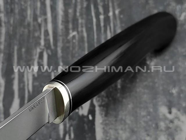 Кметъ нож Шило-2 сталь Vanax 37 рукоять G10, мельхиор
