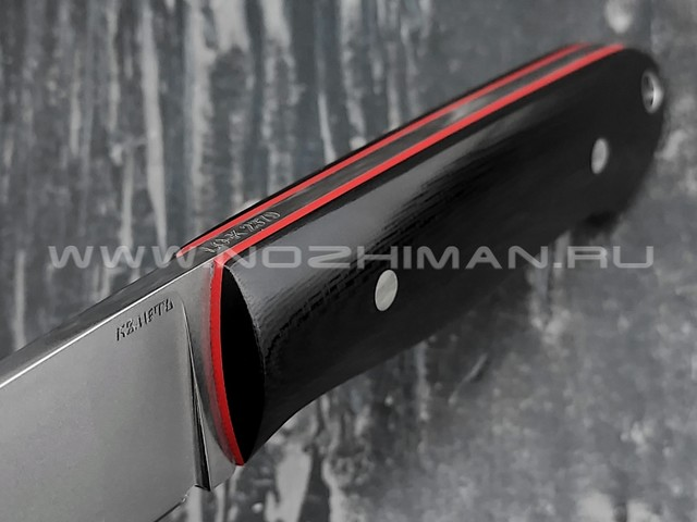 Кметь нож Малыш, сталь LO-K 2379, рукоять G10