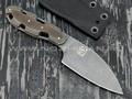 """1-й Цех нож """"Резань"""" сталь 440С, рукоять сталь и текстолит"""
