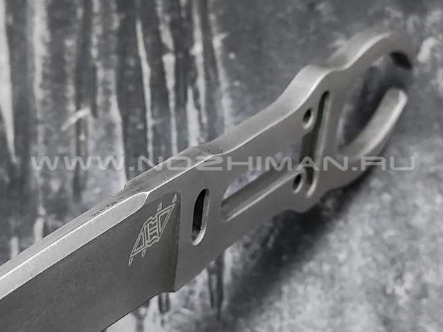 """1-й Цех нож """"Дед"""" сталь 440С, рукоять сталь"""