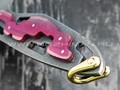 """1-й Цех нож """"Пис Брат XL"""" сталь 440С, рукоять сталь и авторская микарта"""