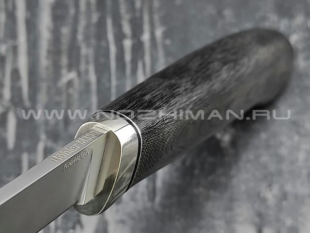 Кметь нож Шило-3 сталь M390, рукоять микарта