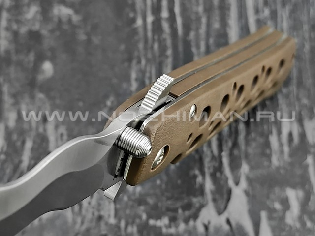Cold Steel нож Ti-Lite 4 Kris Plane 26SK4 сталь Aus-10A, рукоять Zy-Ex