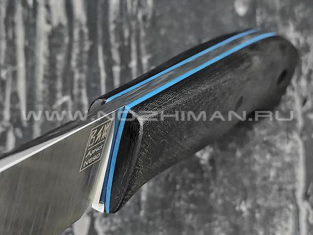 Zh Knives нож Bullet сталь N690, рукоять микарта