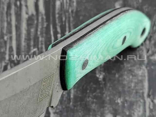 Zh Knives нож Ctrl+Z сталь N690, рукоять G10 mint